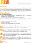 ABA fact sheet
