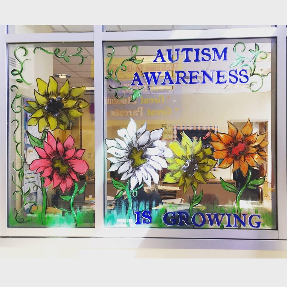 close up of flower window passaic county