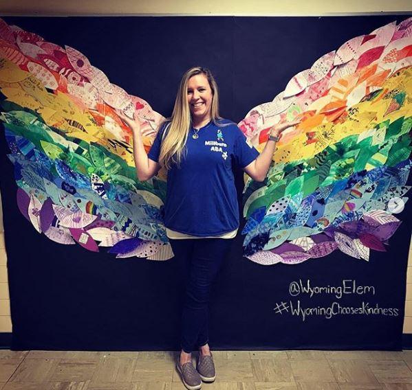 Miss Meghans ABA Class butterfly