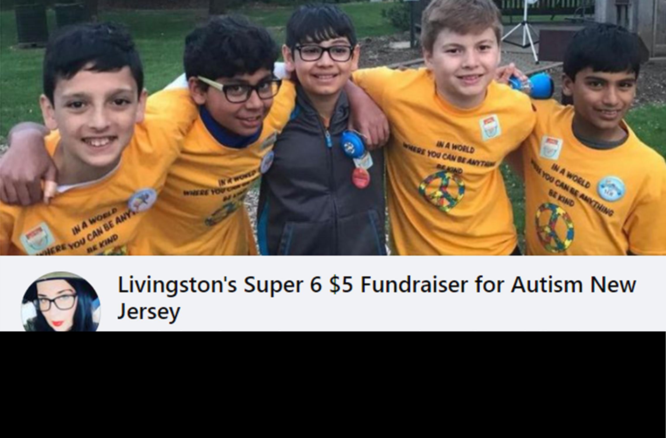 super 6 facebook fundraiser