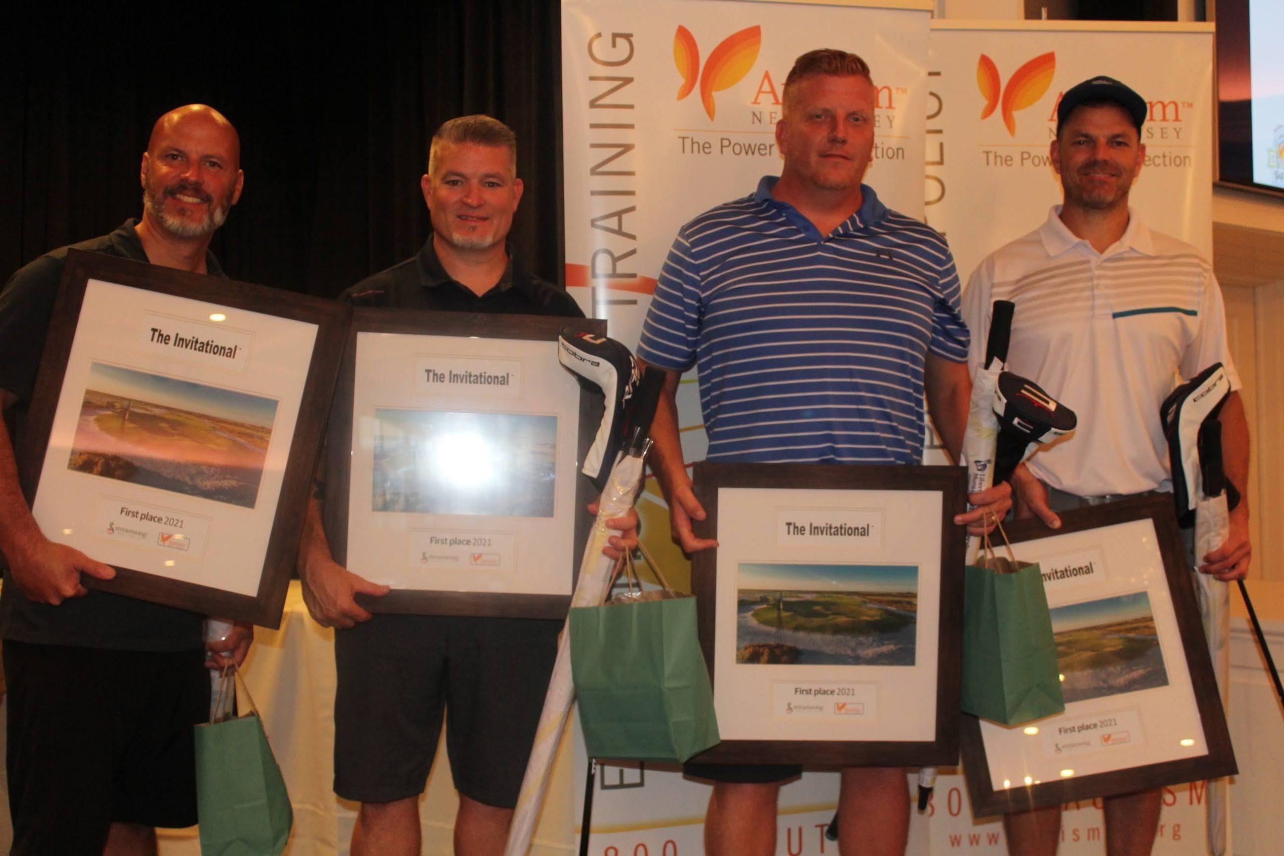 Golf 2021 Winners